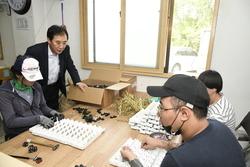 박윤국 포천시장, 사회복지시설 방문해 관계자 격려